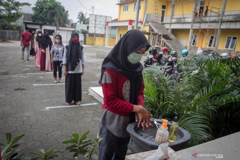 Di Riau, hanya Rokan Hilir diizinkan sekolah tatap muka