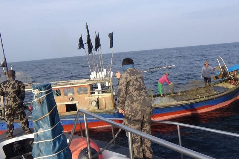 KKP tangkap dua kapal asing lakukan illegal fishing