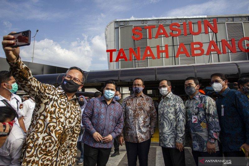 Jakarta Pusat targetkan kembali tata dua stasiun terintegrasi
