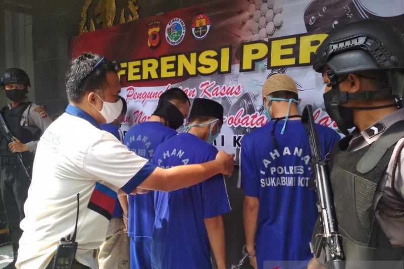 Polisi tangkap narapidana Lapas Nyomplong Sukabumi edarkan narkoba