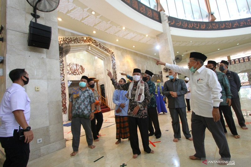 DMI ajak masjid ingatkan protokol kesehatan lima waktu