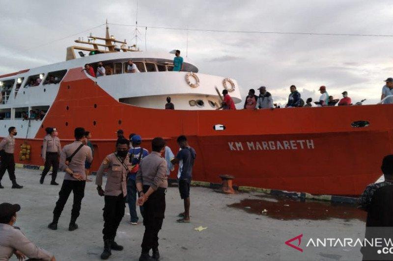 Jalur transportasi laut rute Wondama--Manokwari dibuka kembali