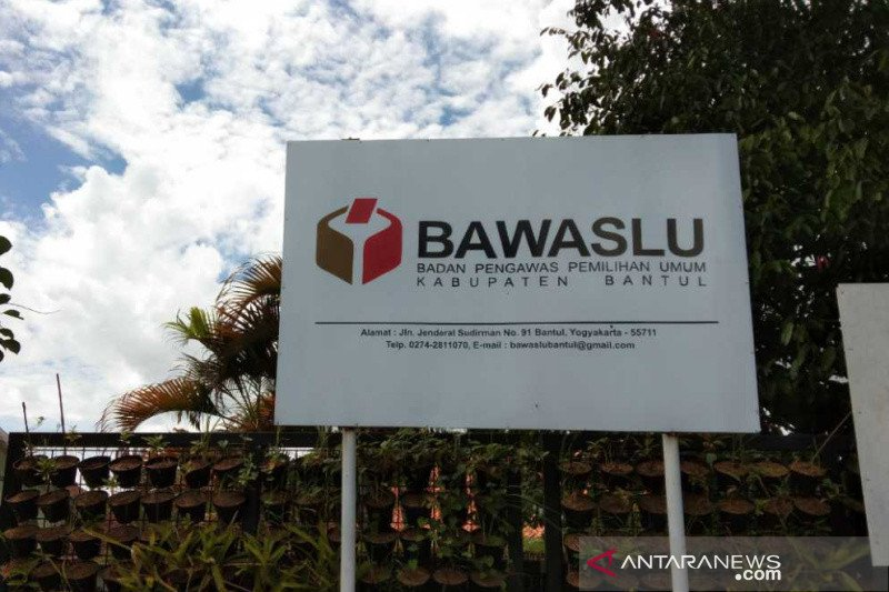 Dua anggota panwaslu kecamatan pada Pilkada Bantul mengundurkan diri