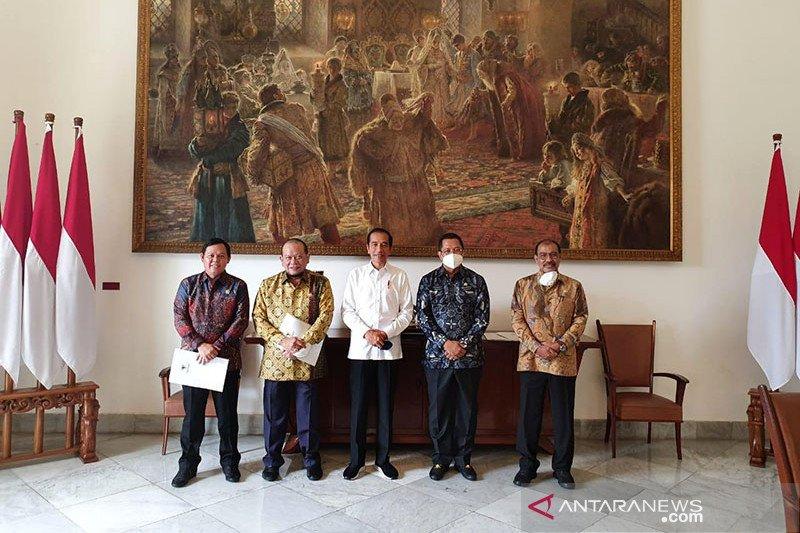 Pimpinan DPD bertemu presiden sampaikan hasil pengawasan lembaga