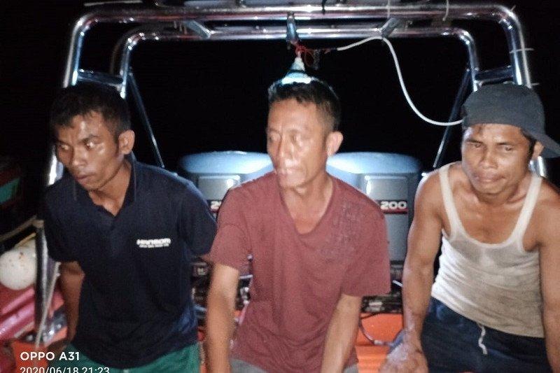 Basarnas: Tiga nelayan hilang di Nias Selatan-Sumut ditemukan selamat