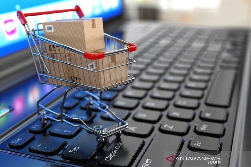 Normal baru, e-commerce jenis pasar daring panen keuntungan