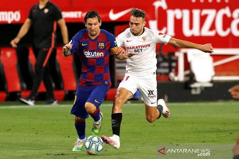 Barcelona ditahan imbang di kandang Sevila 0-0