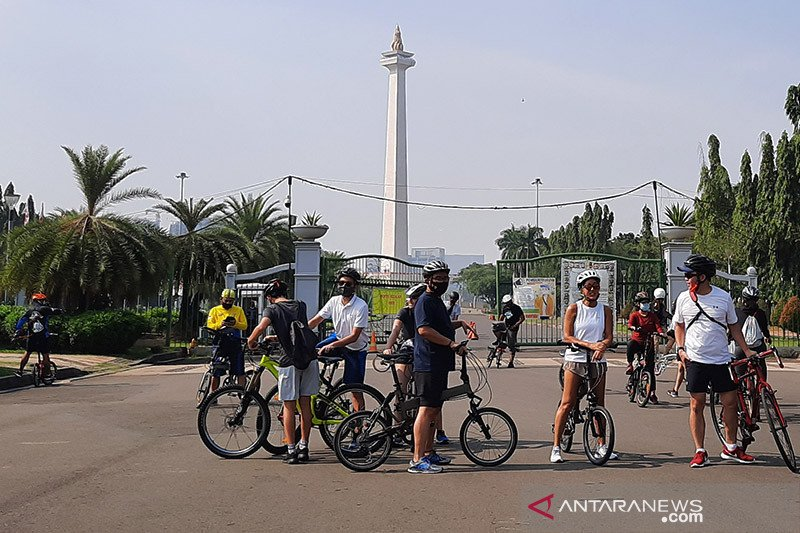 Siang ini, Jakarta diperkirakan cerah berawan