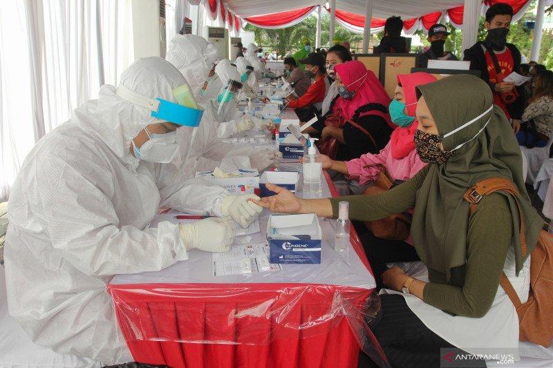 92.964 warga Surabaya telah jalani tes cepat COVID-19 gratis