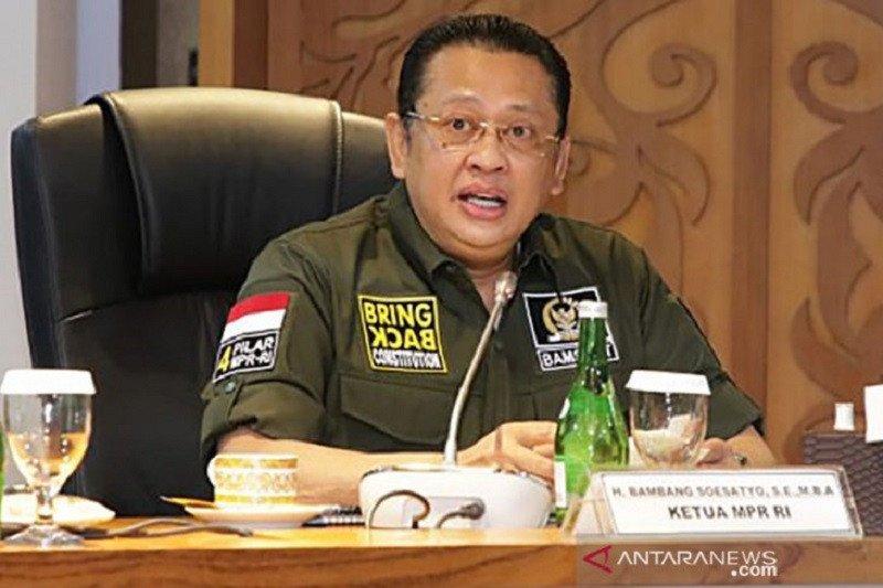 Lonjakan COVID-19, Ketua MPR dorong penerapan kembali PSBB transisi