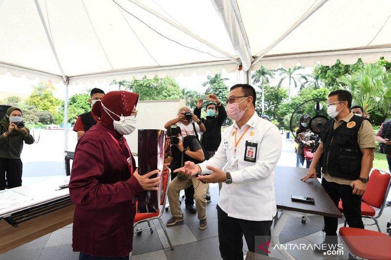 Kemarin, ultah Presiden tanpa perayaan hingga tes cepat di Surabaya