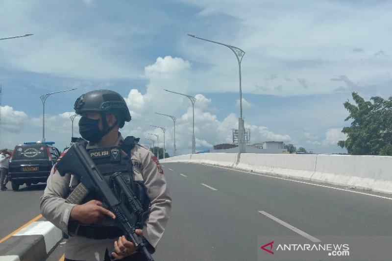 Polisi selidiki dugaan bom jembatan layang Banda Aceh
