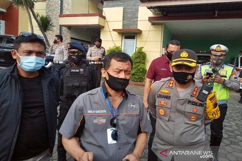 Polisi di Karanganyar dibacok orang tak dikenal