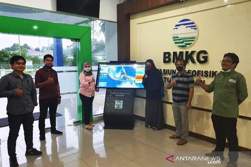 Alat peringatan dini gempa-tsunami dipasang di Deliserdang-Sumut