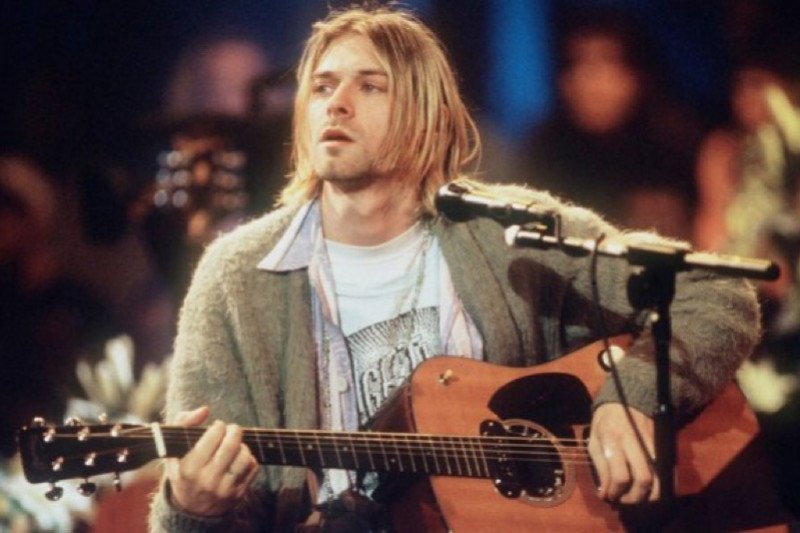 Gitar Kurt Cobain di