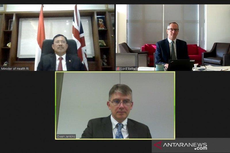 Kerja sama pengendalian AMR hingga COVID-19 diteken Indonesia-Inggris