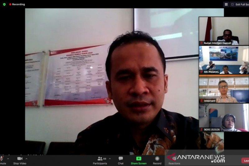 KPU RI yakinkan masyarakat Sumbar tidak khawatir datang ke TPS