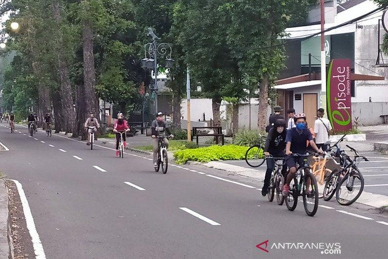 Dishub Kota Bandung: Hari bebas kendaraan bermotor belum bisa digelar