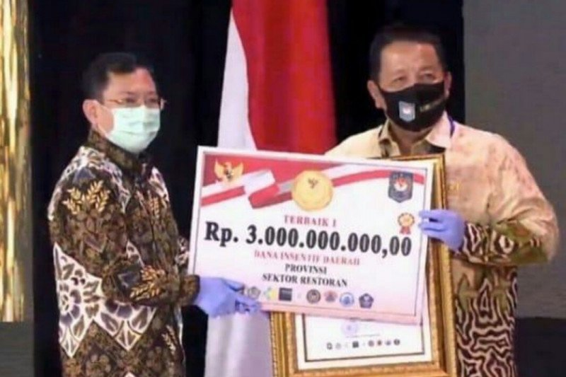 Lampung raih tiga penghargaan lomba inovasi terkait COVID-19