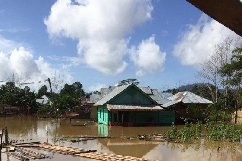 Banjir di Konawe Utara mulai surut