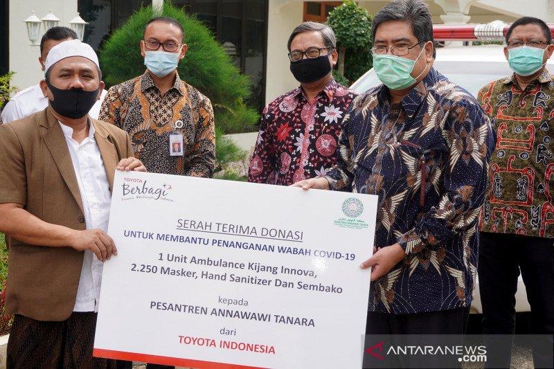 Toyota kirim Kijang Innova Ambulans untuk pesantren di Banten
