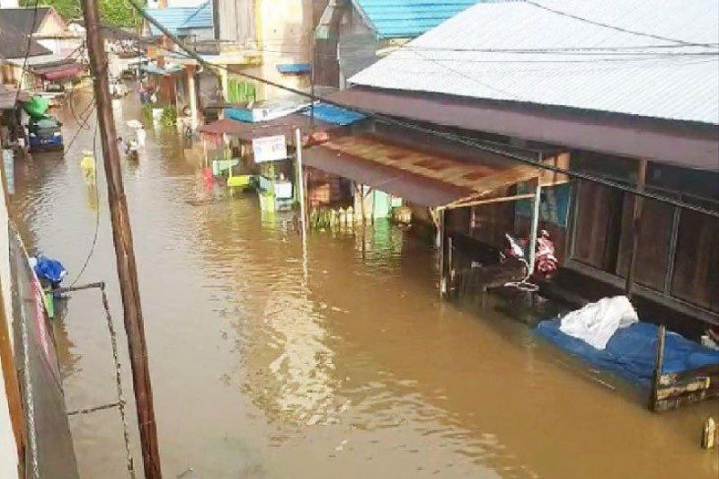 Banjir landa sejumlah wilayah di Kotawaringin Timur
