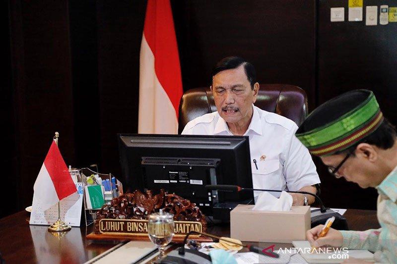 Luhut ajak pemda gotong royong sukseskan Bangga Buatan Indonesia