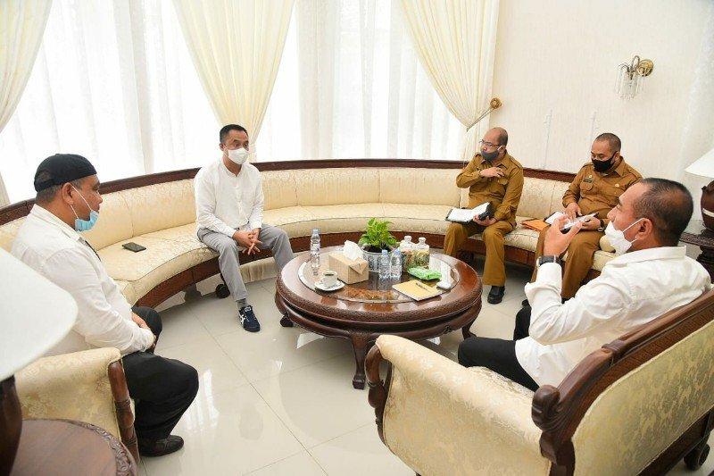 Gubernur Sumut minta bantuan ke warga terdampak COVID-19 disalurkan