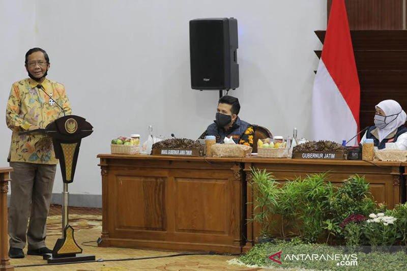 Mahfud MD tegaskan kesungguhan pemerintah tangani COVID-19