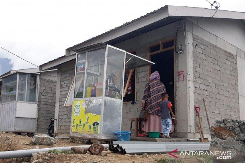 Sebagian korban bencana telah tempati hunian tetap Balaroa Palu