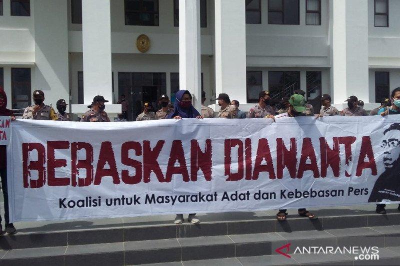 Aktivis nilai kasus Diananta sudah selesai di Dewan Pers