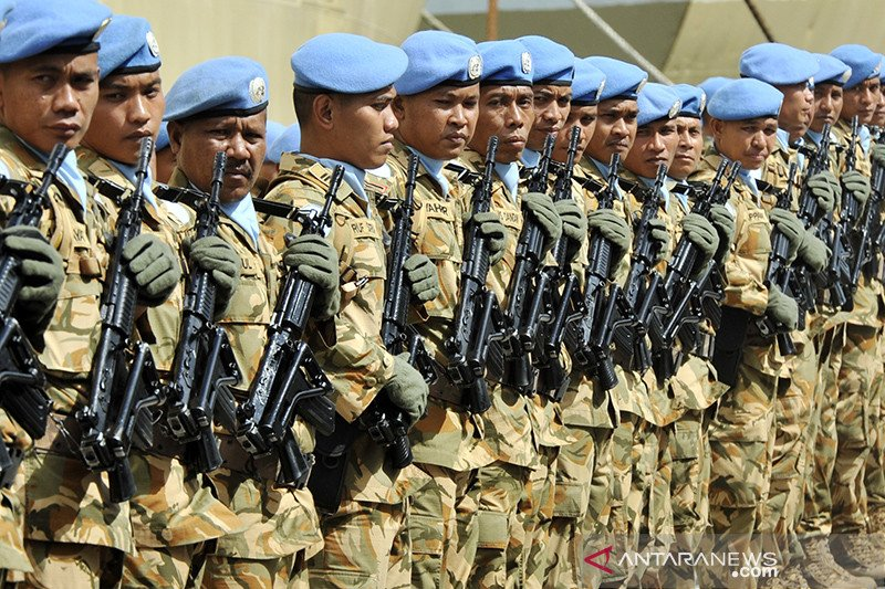 Prajurit TNI yang meninggal di Kongo akan dimakamkan di Pekanbaru