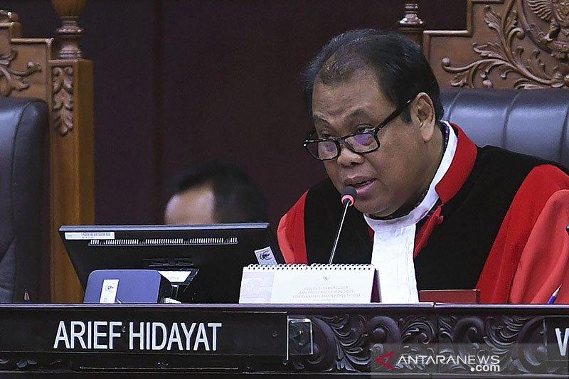 Hakim ingatkan UU Ketenagakerjaan tak bisa jadi batu uji UU Ciptaker