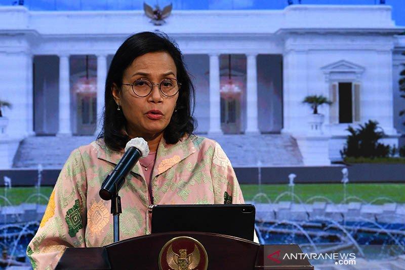 Sri Mulyani catat belanja negara hingga Juli 2020 tumbuh 1,3 persen