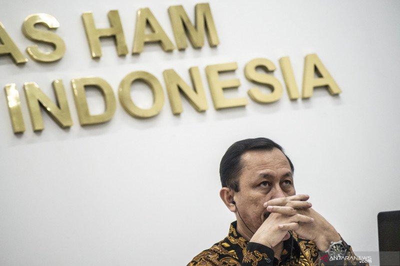 Komnas HAM bertemu Presiden Jokowi bahas tren intoleransi