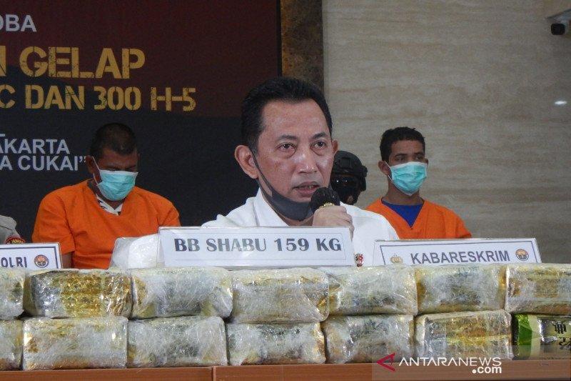 Kabareskrim: Tim Halilintar terus kembangkan kasus narkoba asal China