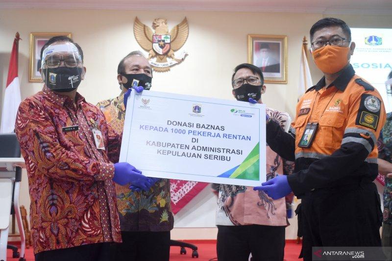 Baznas daftarkan 1.000 warga Kepulauan Seribu kepesertaan BPJamsostek