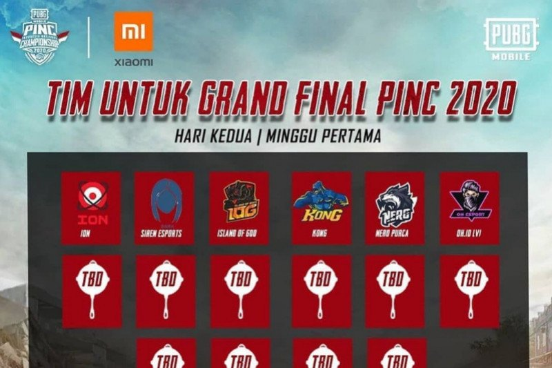 Unggul dalam playoff, enam tim ke grand final PINC 2020