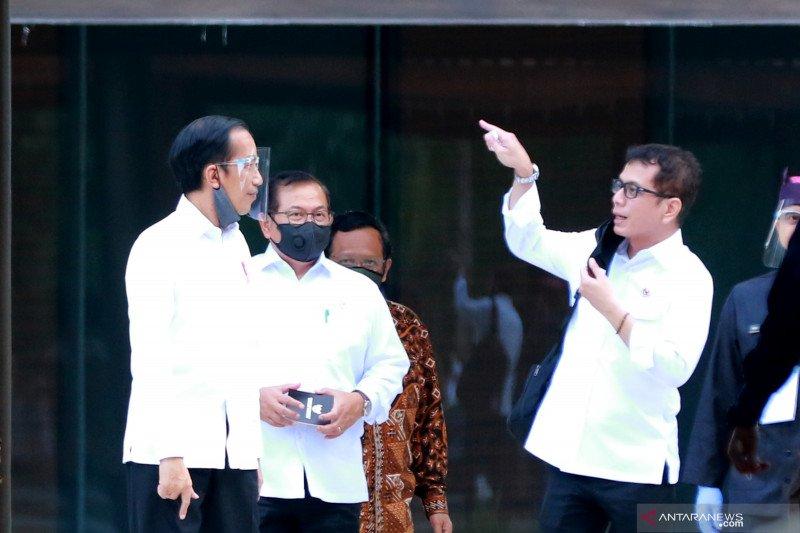 Presiden Jokowi tinjau konsep pariwisata era normal baru