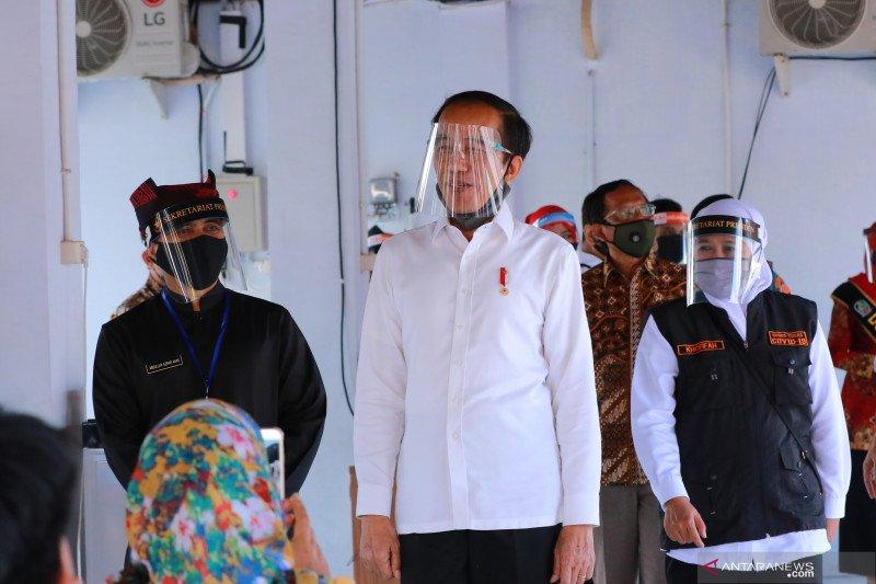 Kunjungan Presiden Jokowi di Banyuwangi
