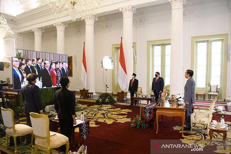 Presiden Jokowi ajak ASEAN perkuat kemitraan di tengah pesimisme