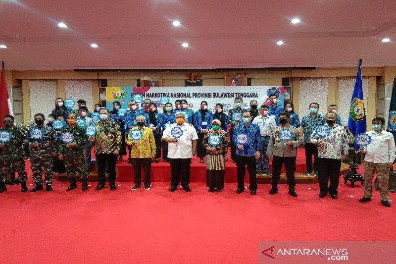 BNNP Sultra ajak semua pihak perangi narkoba saat peringatan HANI