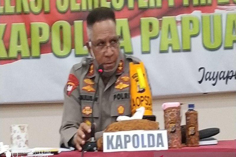 Kapolda Papua gelar refleksi semester pertama