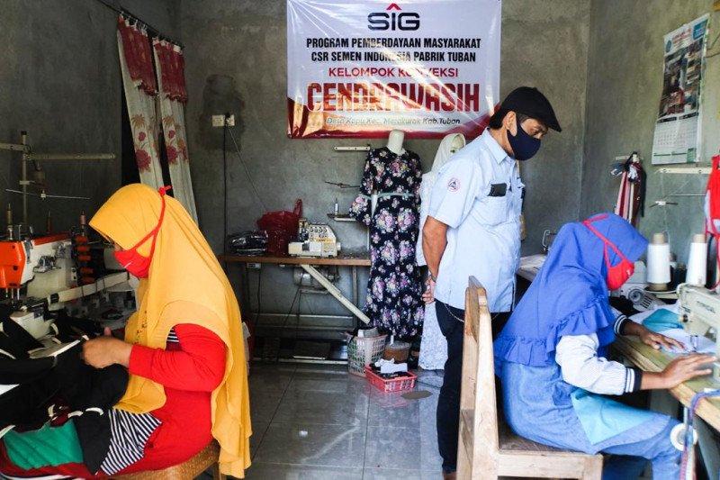 UMKM binaan Semen Indonesia gencar berinovasi hadapi dampak pandemi
