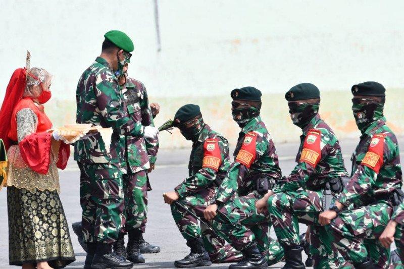 Sebanyak 600 personel Yonif 100/PS amankan perbatasan RI-PNG