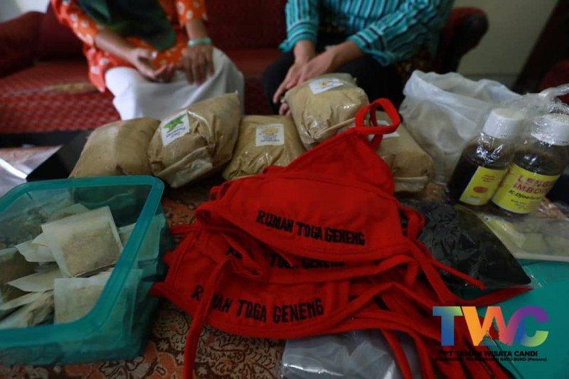 UMKM mitra binaan PT TWC produksi masker rempah di masa pandemi