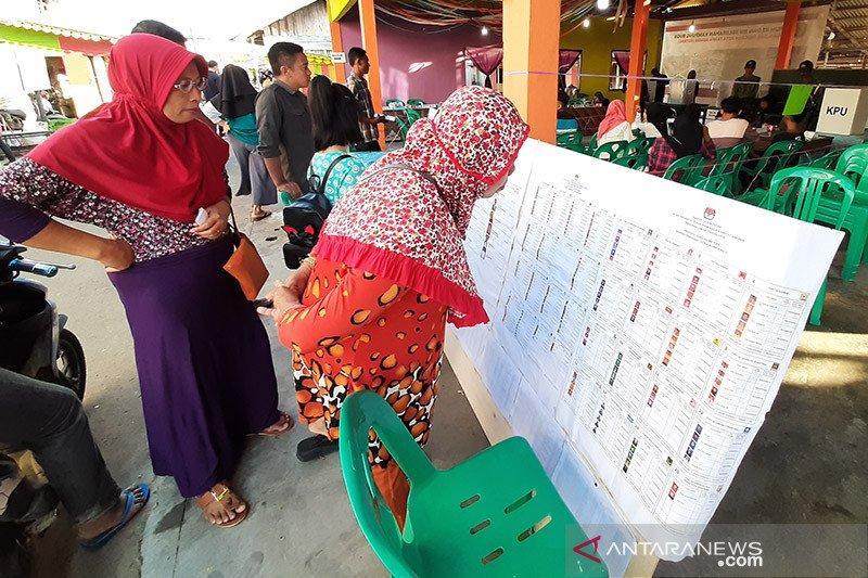 Kemarin, jumlah Daftar Pemilih Tetap Kalimantan Selatan hingga Sumbar