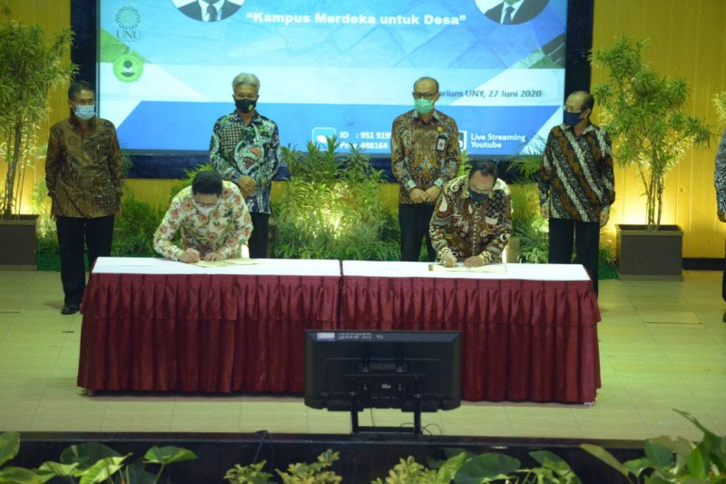 Kemendes PDTT jalin kerja sama dengan enam kampus di Yogyakarta