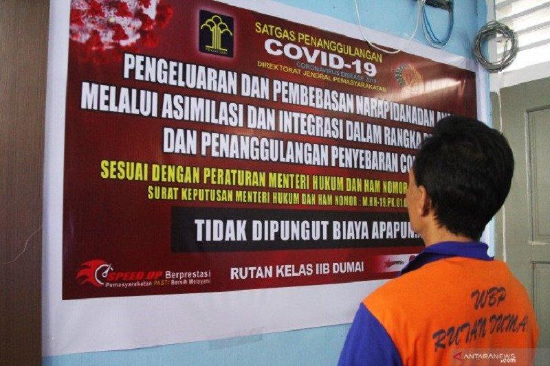 22 napi asimilasi Riau kembali terlibat berbagai tindak pidana