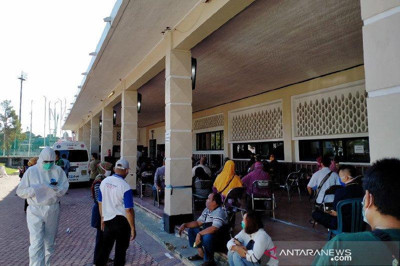 Kapasitas pemeriksaan tes usap mobil PCR BNPB di Surabaya ditambah